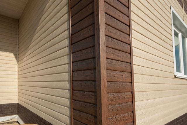 Сайдинг Timberblock Дуб для фасада