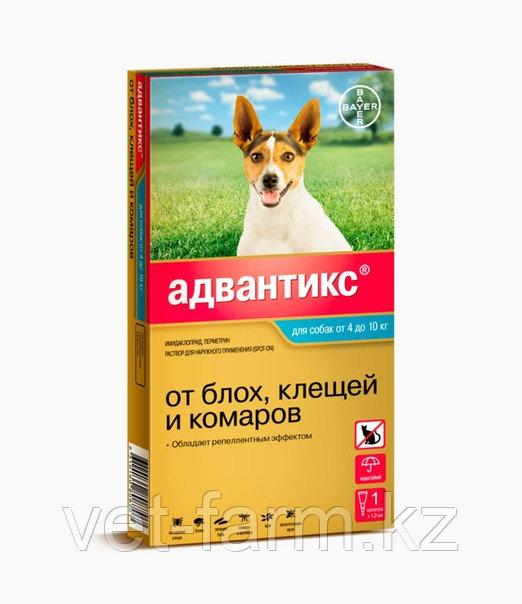 Адвантикс для собак от 4 до 10 кг