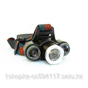 Налобный фонарь XQ-117, фото 2
