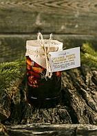 Варенье из сосновой шишки с ореховым ассорти -Грецкий орех, фундук, миндаль., фото 1