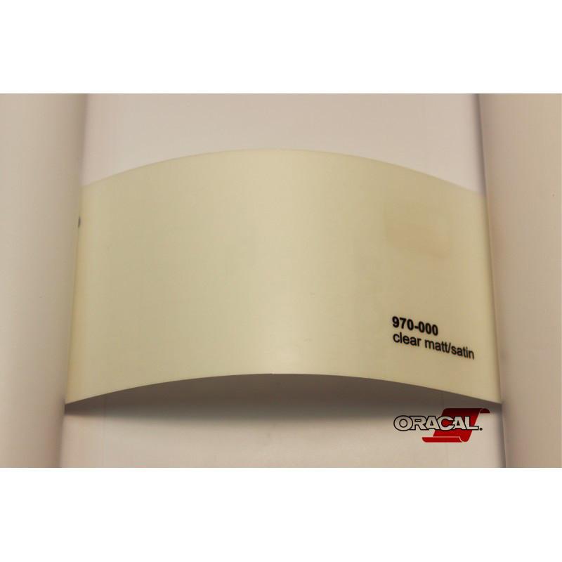 ORACAL 970 000M (1.52m*50m) Прозрачный сатин/матовый