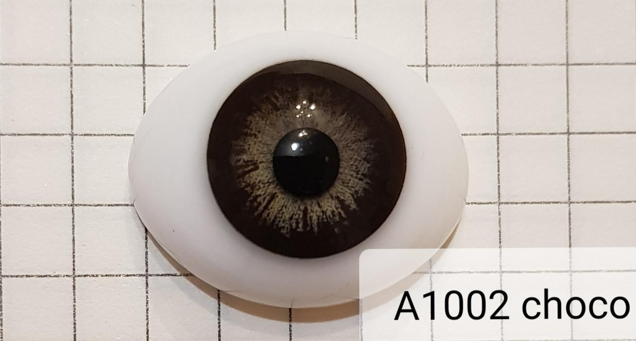 Контактные линзы A1002 Choco 0.00 - фото 4