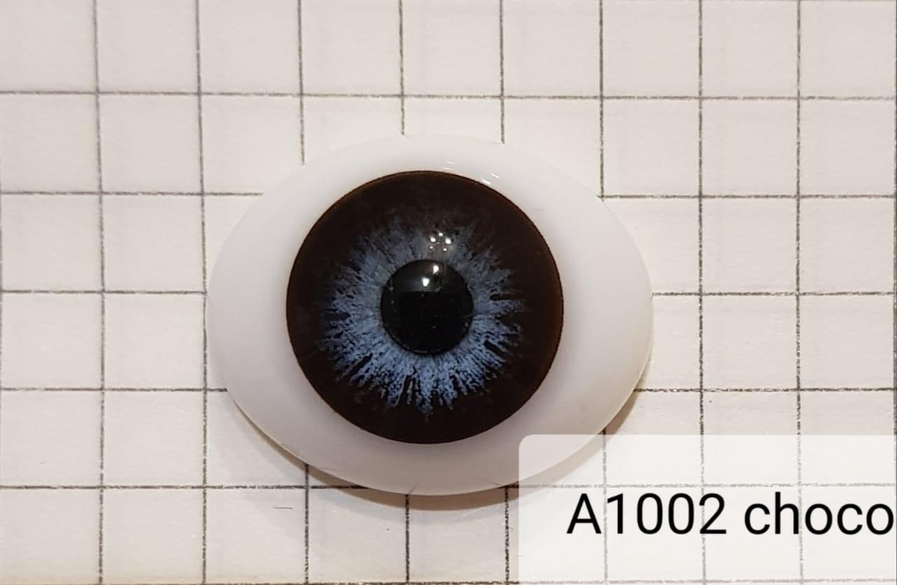 Контактные линзы A1002 Choco 0.00 - фото 5