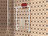 Водяной полотенцесушитель Terminus Анкона с полкой П8 532*801 белый серия Эконом