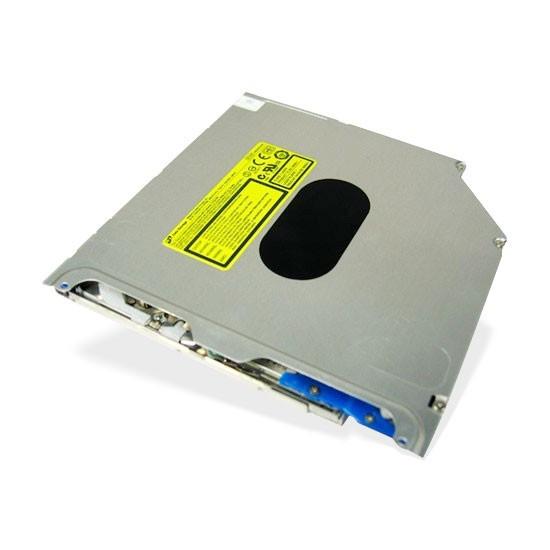 DVD-RW, HL (Hitachi LG), GS21N (для Apple), Щелевая загрузка, 9.5 мм, SATA, Для ноутбука, Чёрный