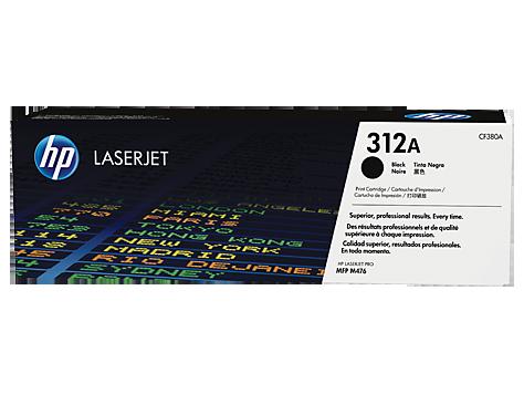HP CF380A Картридж лазерный HP 312A черный, ресурс 2400 стр