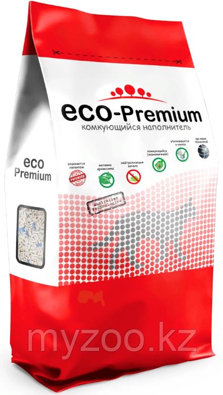 ECO-Premium нейтрал, 55 л - 20 кг |Эко-премиум комкующийся древесный наполнитель|