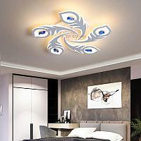 Потолочная светодиодная люстра на 5 ламп 88025-5