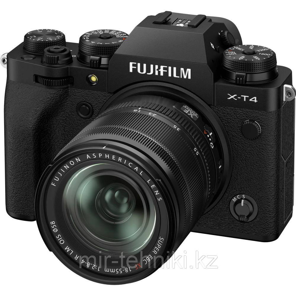 Фотоаппарат Fujifilm X-T4 Kit XF 18-55mm f/2.8-4R LM OIS Black