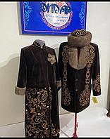 Женский чапан и мужской суртюк (в комплекте на заказ)