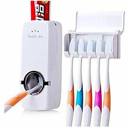 Дозатор зубной пасты и зубных щёток, фото 2
