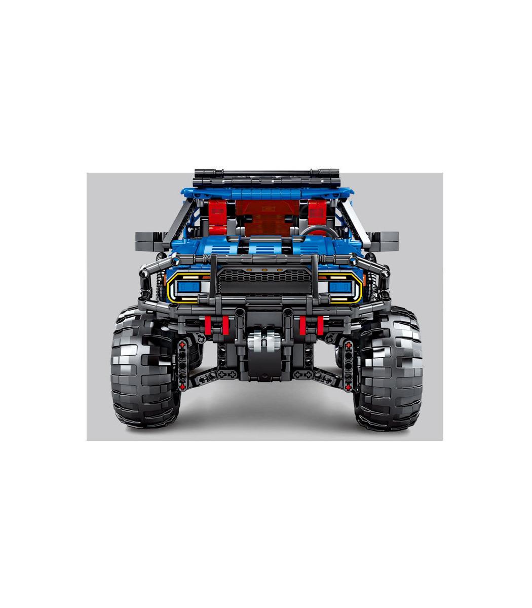 Конструктор Сэмбо 701990 Форд Ф-150 Раптор 1630 деталей - фото 4