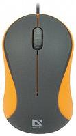 Мышь проводная Defender Accura MS-970 (Gray-Orange)