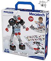 """Конструктор """"Mecatech"""" Miniland Испания 106 деталей"""
