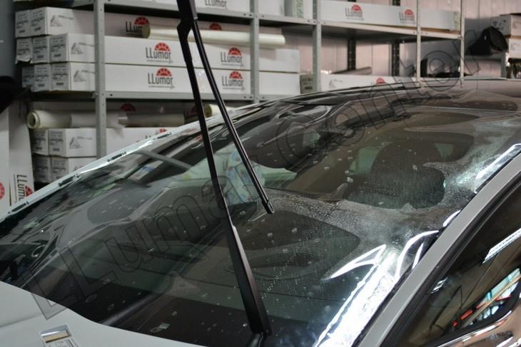 Clear Plex - лучшая пленка для защиты лобового стекла
