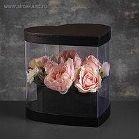 Коробка подарочная в форме сердца, 26 х 27 х 25 см