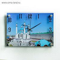 """Часы настенные, серия: Город, мечеть """"Кул-Шариф"""", 25х35 см"""