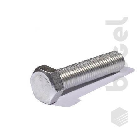 Болт DIN933 кл. пр. 8.8 покрытие цинк М24*130