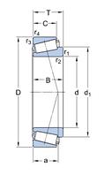L 45449/Q   подшипник SKF