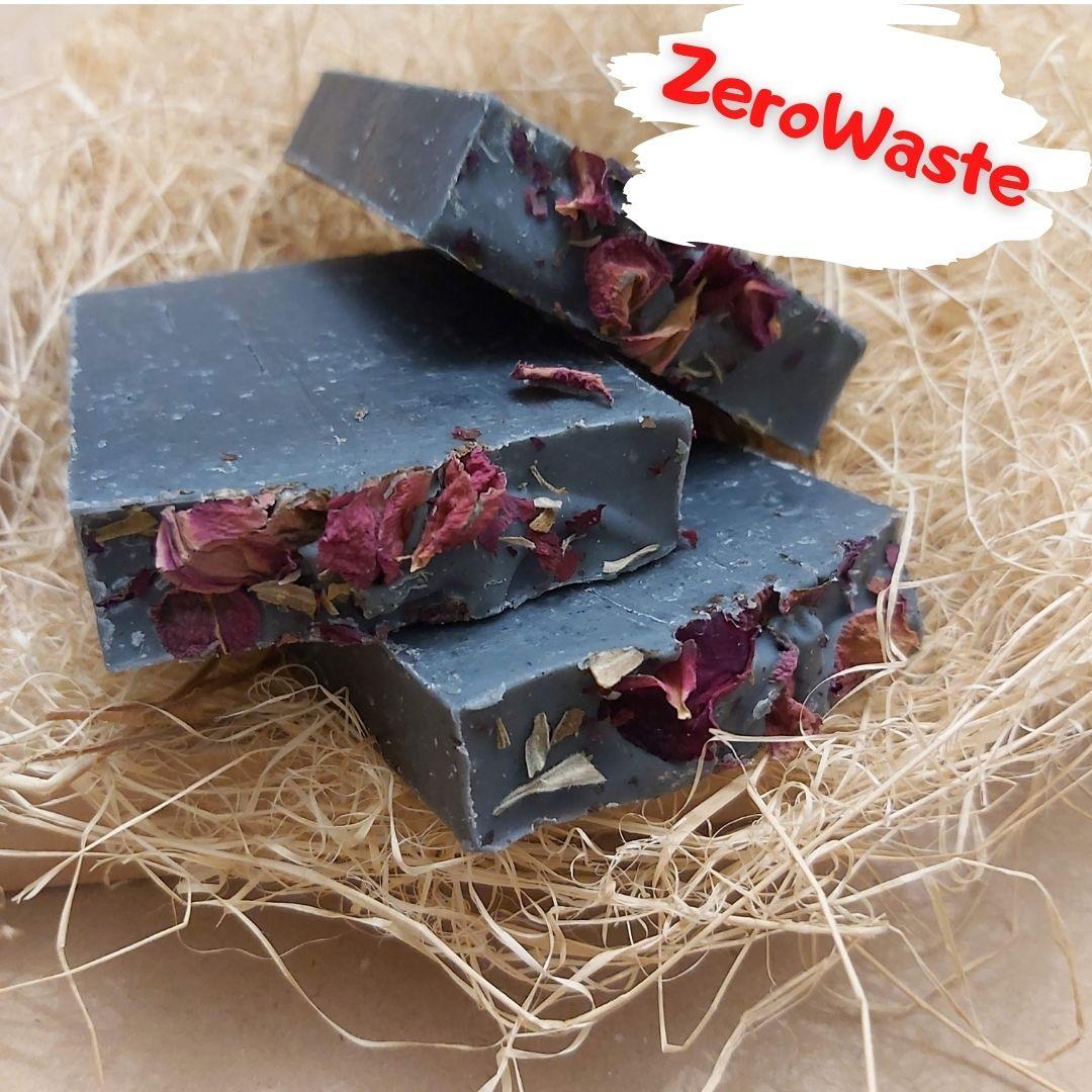 Натуральное мыло Чёрная роза 150 гр