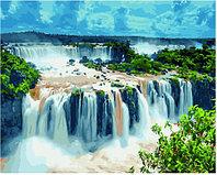 Картина по номерам GX 34513 Обрывистые водопады 40*50