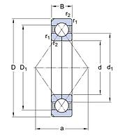 QJ 312 MA подщипник SKF