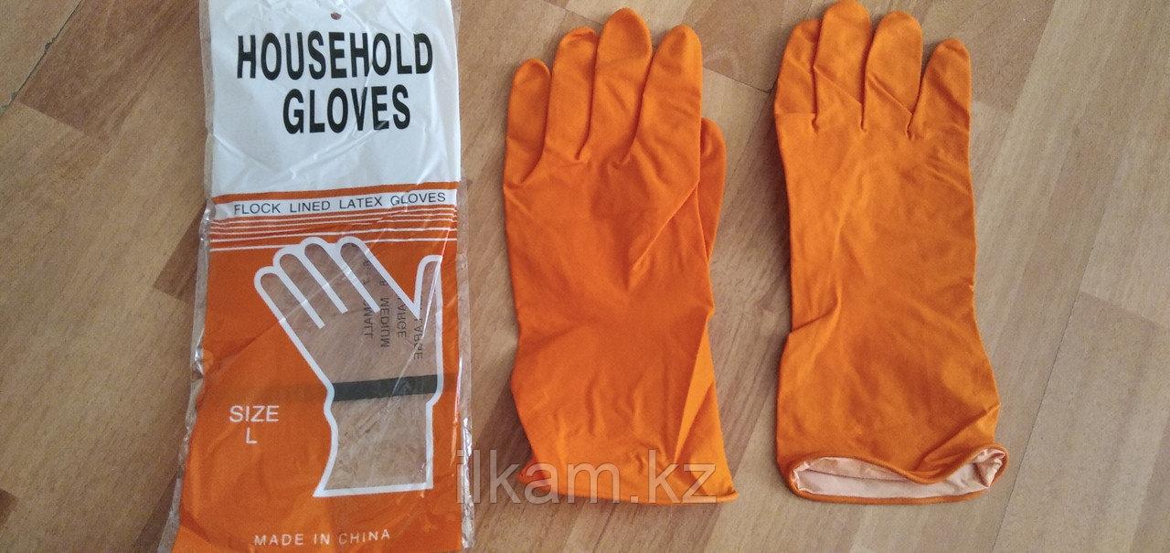 Перчатки резиновые латекс M, L, XL, товар сертифицирован, полный пакет документов.
