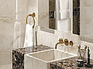 Кафель | Плитка настенная 25х75 Айвори | ivory бежевый рельеф, фото 5