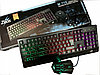 Клавиатура Zeus Keyboard M710 с подсветкой + Мышка (Игровая), фото 2