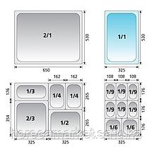 Гастроемкость KAPP gn 1-2-40 31012040, фото 3