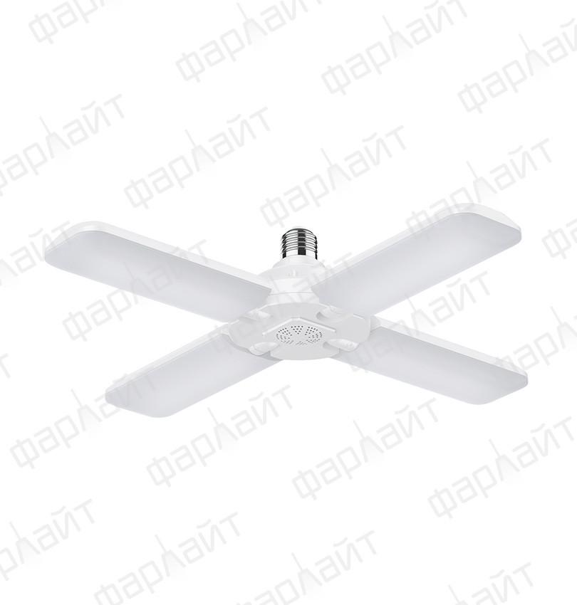 Светодиодная лампа-трансформер Т80-4 60 Вт 6500 К Е27 Фарлайт