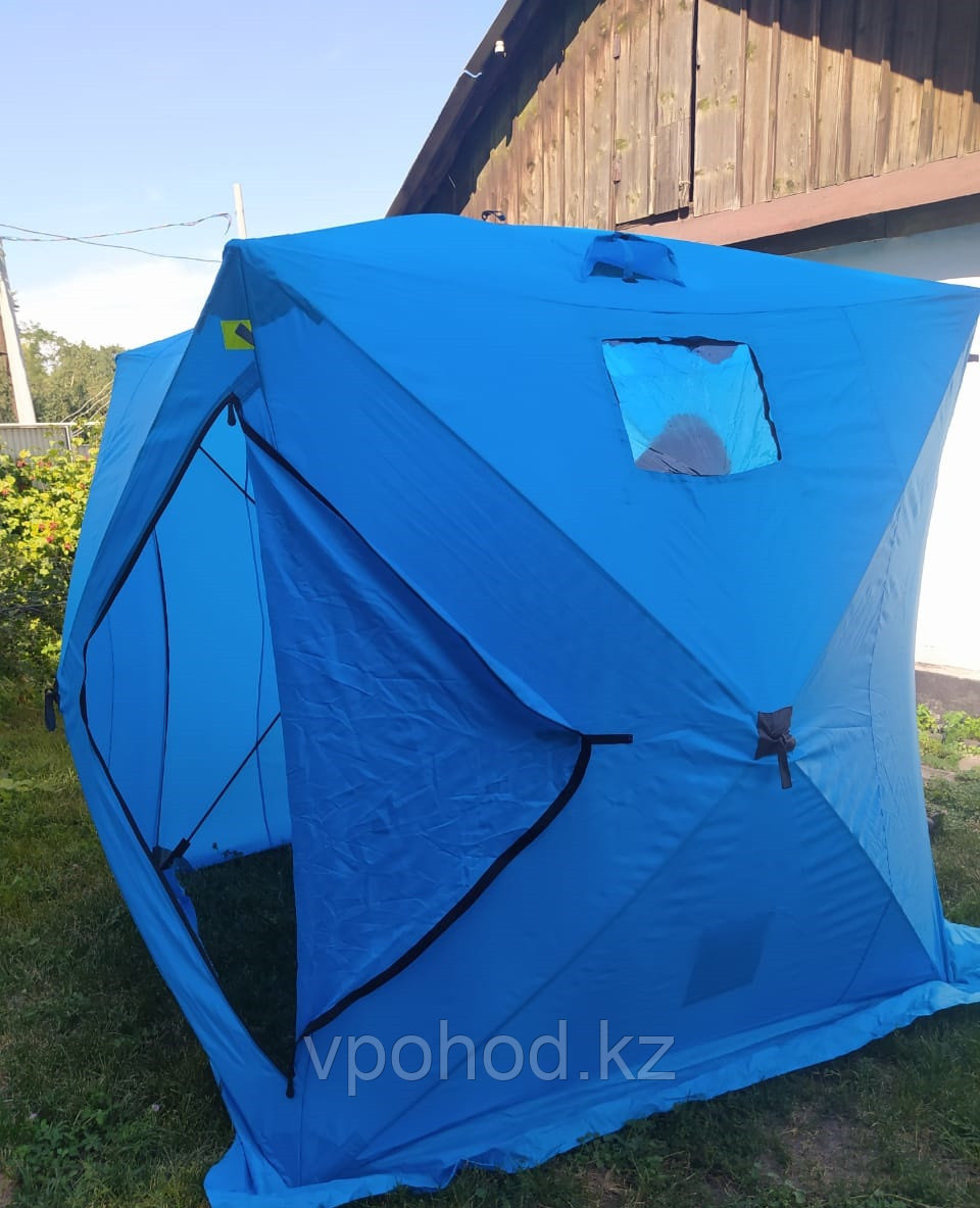 Палатка КУБ для зимней рыбалки  (200х200х200 см)
