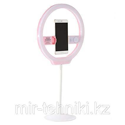 Кольцевой светодиодный свет YOUNGNUO YN128 II 3200-5500K (розовый)