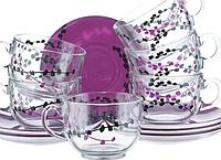 Набор чайный luminarc evolution kashima на 6 персон 12 предметов