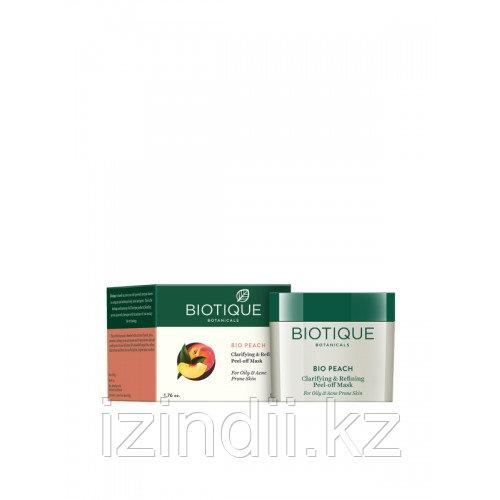 Отшелушивающая маска-пленка БИО ПЕРСИК (BIO PEACH ), 50 мл, Biotique