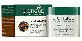 Маска для лица Био Гвоздика, Биотик (Bio Clove, Biotique) 75 гр