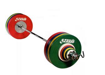 Штанга IWF муж. 190 кг трениров. цвет.