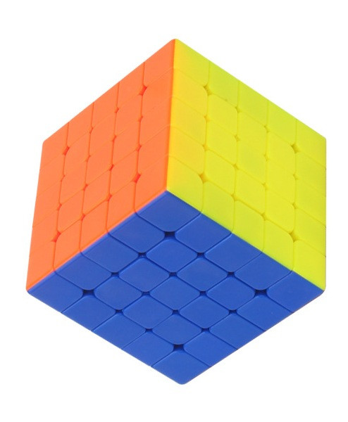 Кубик Рубика 5 на 5 Yuxin в цветном пластике