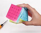 Кубик Рубика 5 на 5 Yuxin в цветном пластике, фото 8