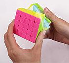 Кубик Рубика 5 на 5 Yuxin в цветном пластике, фото 6