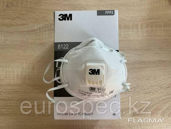 Респиратор 3М 8122 FFP2 (оригинал) цена 950 тенге