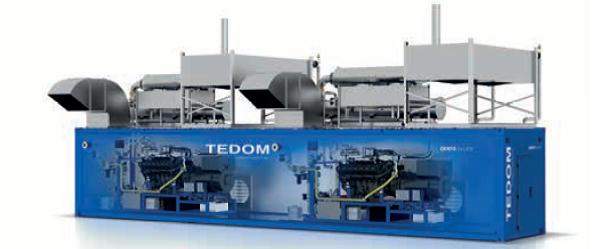 TEDOM CENTO Газопоршневая когенерационная установка