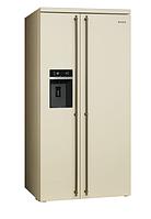 Отдельностоящий холодильник Side-by-Side Smeg SBS8004PO