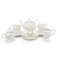 Позолоченный чайный сервиз 6 персон Грация (Акку, Казахстан)