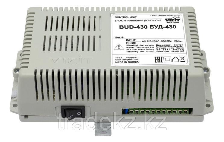 VIZIT БУД-430S блок управления и питания домофона, фото 2