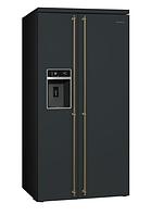 Отдельностоящий холодильник Side-by-Side Smeg SBS8004AO