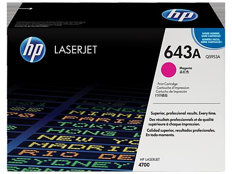 HP Q5953A Картридж лазерный HP 643A пурпурный, ресурс 10000 стр