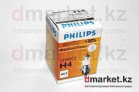 Лампа галогеновая Philips H4, 12V, 60/55W P43T-38, фото 1
