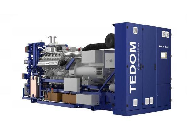 TEDOM FLEXI Газопоршневая когенерационная установка, фото 2