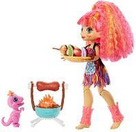 Cave Club® Игровой набор с куклой Эмберли и барбекю